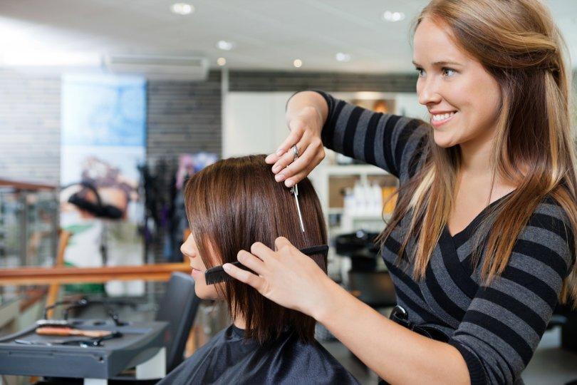 Sole trader hairdresser